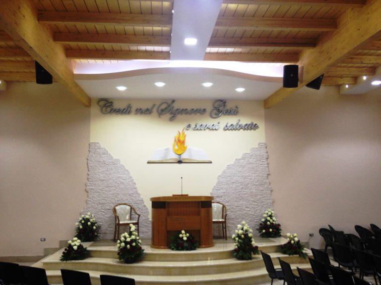 La Chiesa Evangelica Afragola Napoli ha un nuovo impianto audio