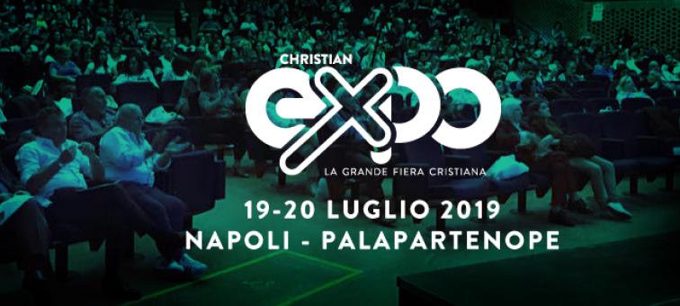 Franco Calise presente alla Christian Expo 2019 Napoli