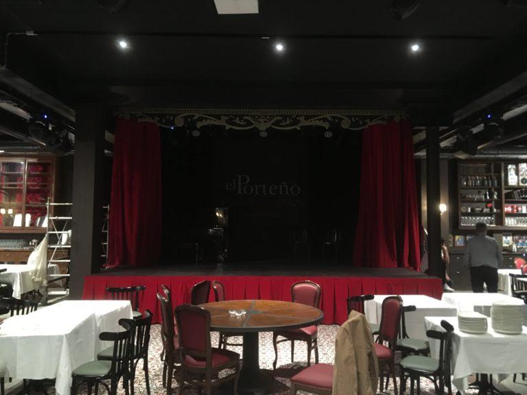 Installazione impianto audio al locale PORTENO Milano