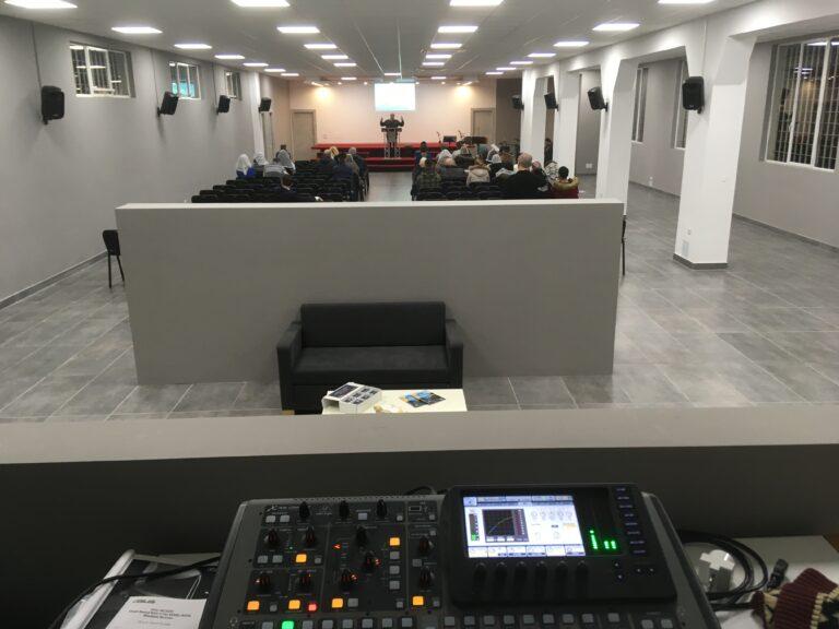 La chiesa Evangelica Adi di Varese ha un nuovo impianto audio