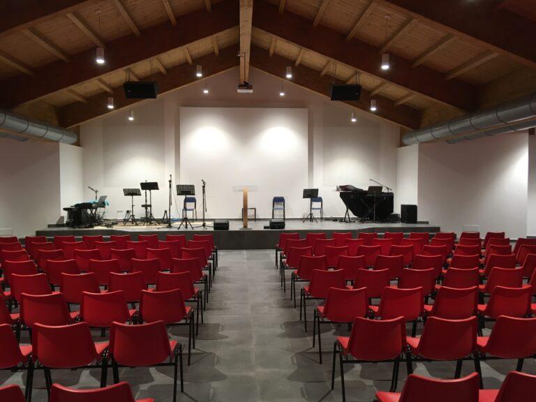 La chiesa Evangelica Adi di Gallarate (Varese)ha un nuovo impianto audio